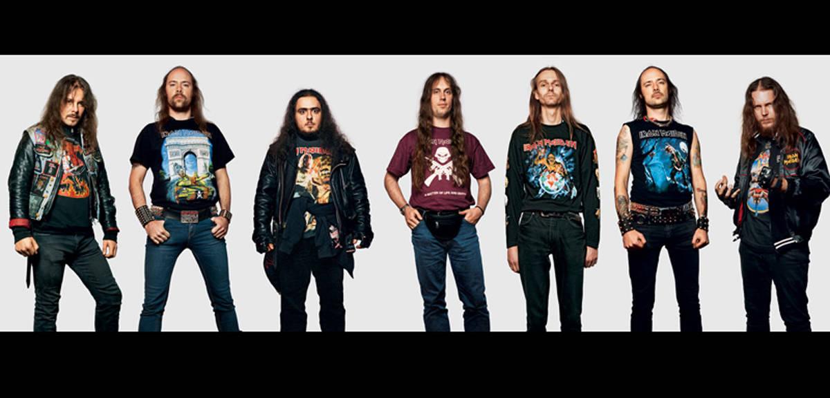 Fans d'Iron Maiden
