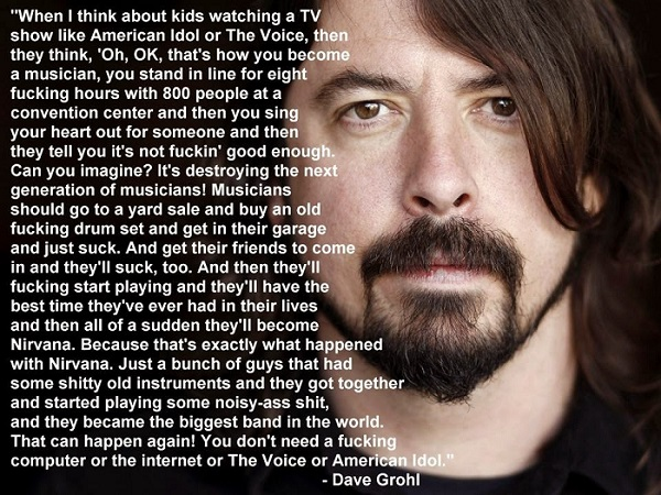 dave grohl the voice