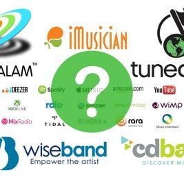 distributeurs digitaux de musique