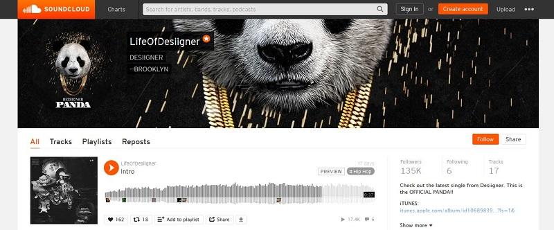 profil soundcloud