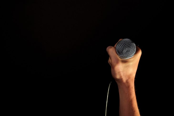 quoi dire public concert