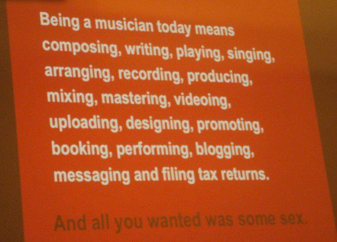 La vie du musicpreneur
