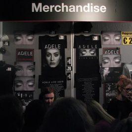 concert merchandising rentable